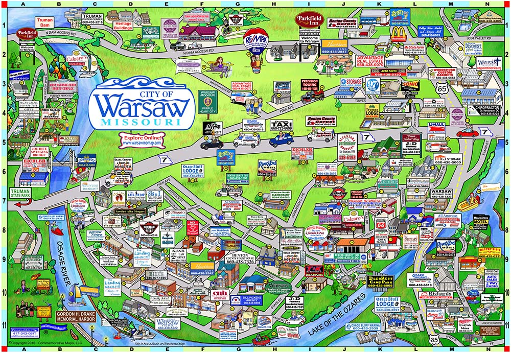 springfield mo map with Warsawmomap on Buckley further VM Info State Rotten District Maps together with Pictorial Travel Map Of Missouri as well Shearing And Forming moreover Ritas 2 Color Logo.
